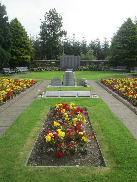 Lockerbie,Garden of Remembrance, Closer View
