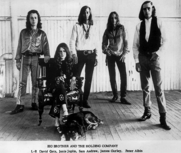 Janis Joplin with Big Brother and the Holding Company, circa 1966.