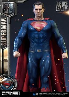 Prime 1 Studio《正義聯盟》超人 ジャスティス・リーグ スーパーマン MMJL-06EX 1/3 比例全身雕像作品