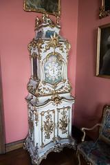 Rococo grandfather clock