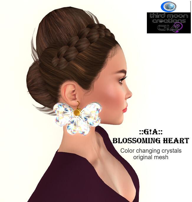 Blossoming heart Vendor - TeleportHub.com Live!