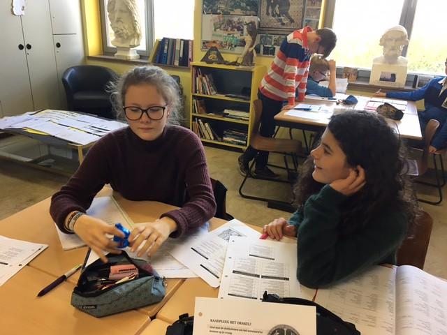 Het Orakel in de lessen Latijn