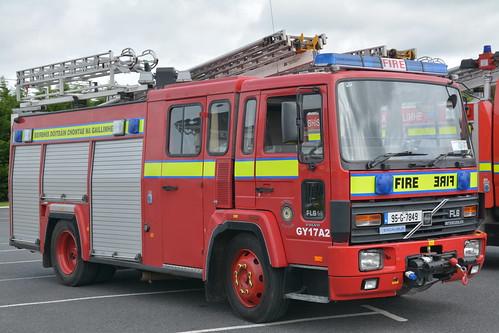 Galway County Fire Service 1995 Volvo FL6 14 Excalibur WrL 95G7849 (Ex Oxfordshire N438CBW)