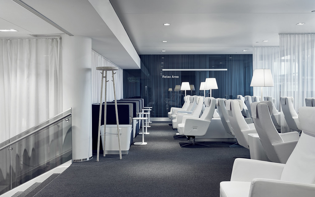Finnair Premium Lounge Relax area2