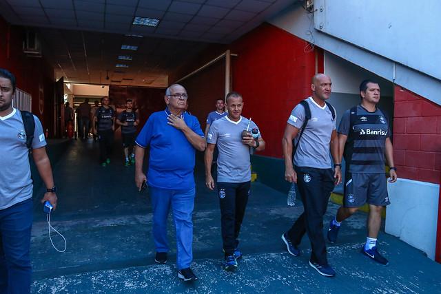 Conhecimento do Estádio Libertadores de América 13/02/18