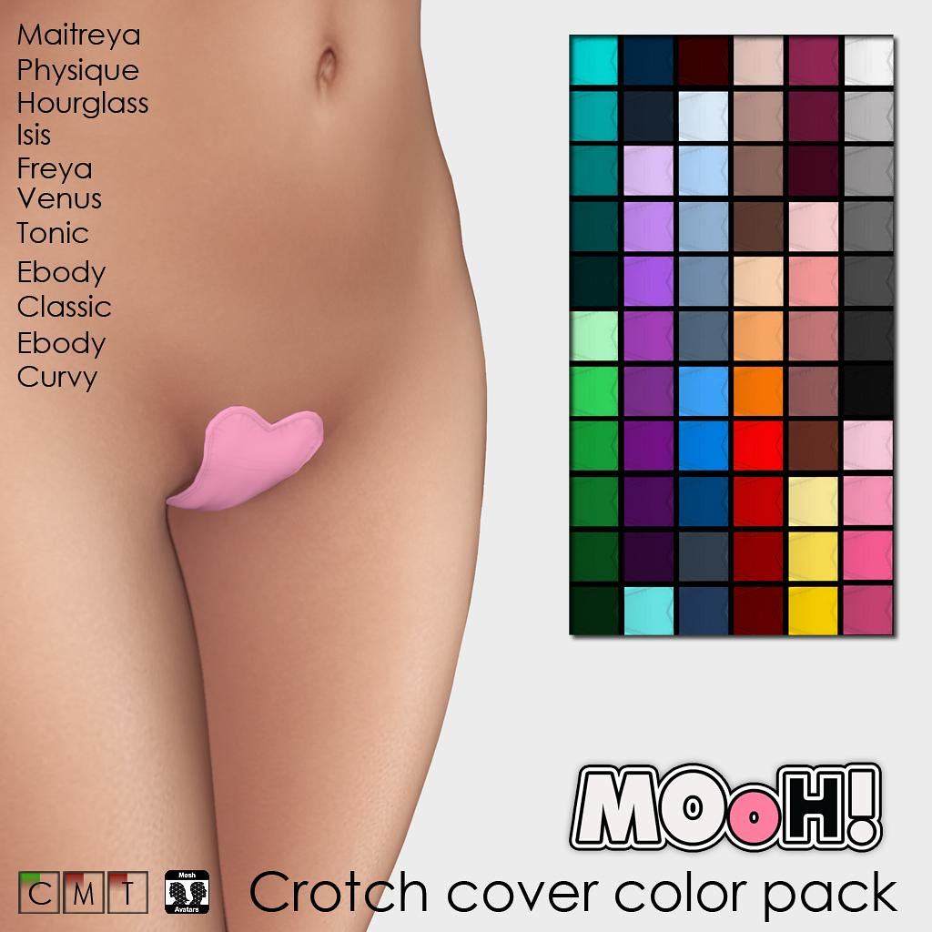 Crotch cover color pack
