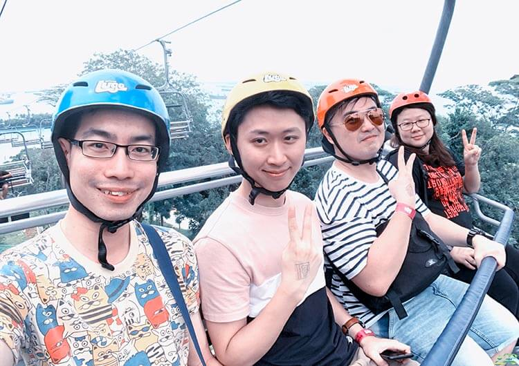 skyride in singapore