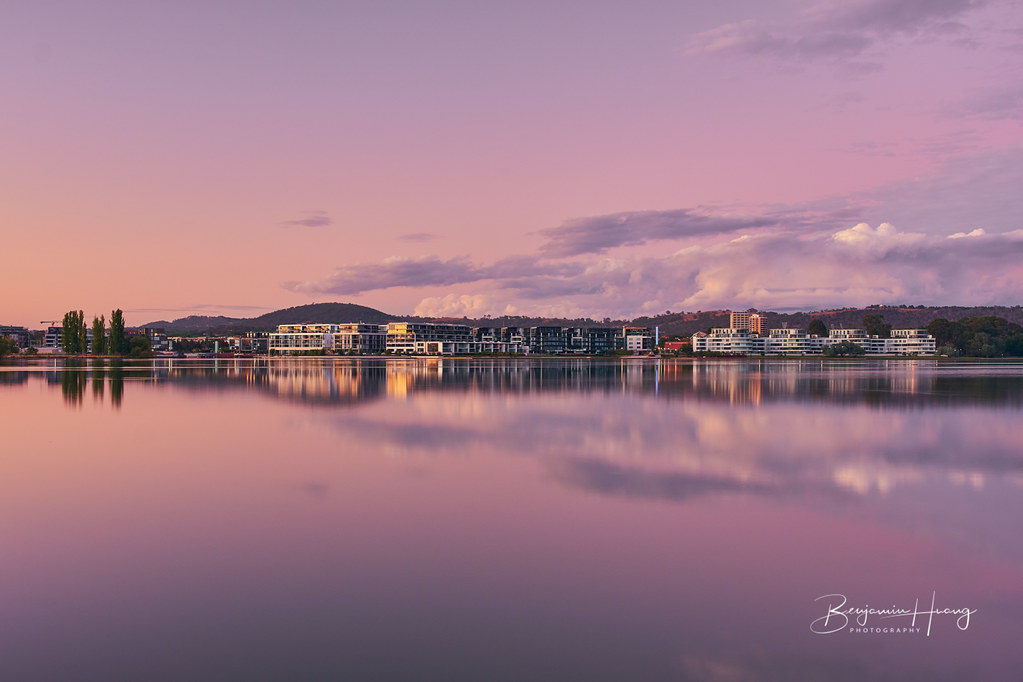 Kingston Foreshore At Dawn