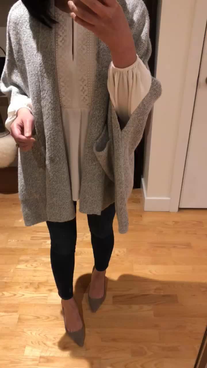 LOFT Knit Dolman Wrap