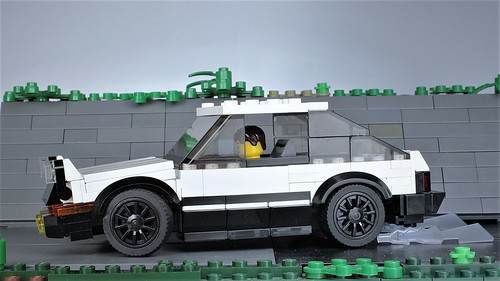 Lego Hachiroku AE-86 from Initial-D