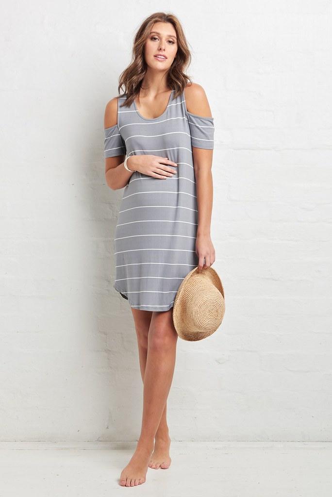 Ripe_Cut Out Shoulder Dress