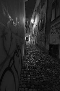 alleys of Ljubljana