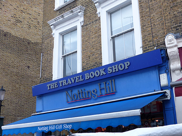 the travel book shop