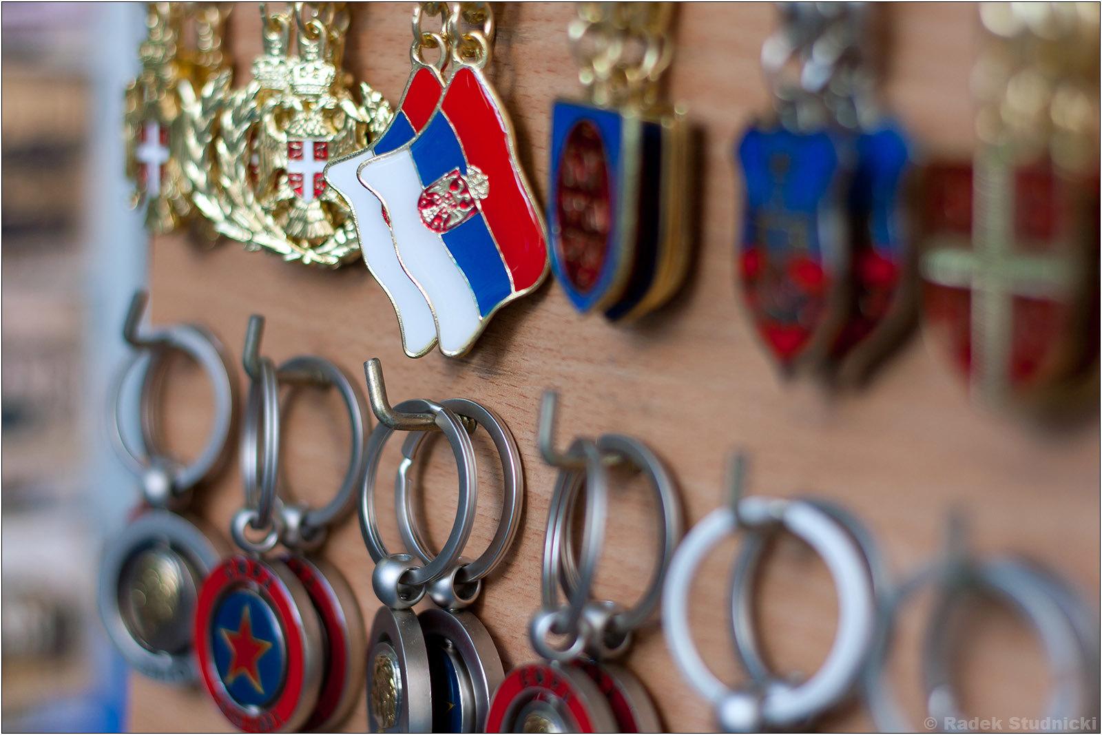 Pamiatki z Serbii