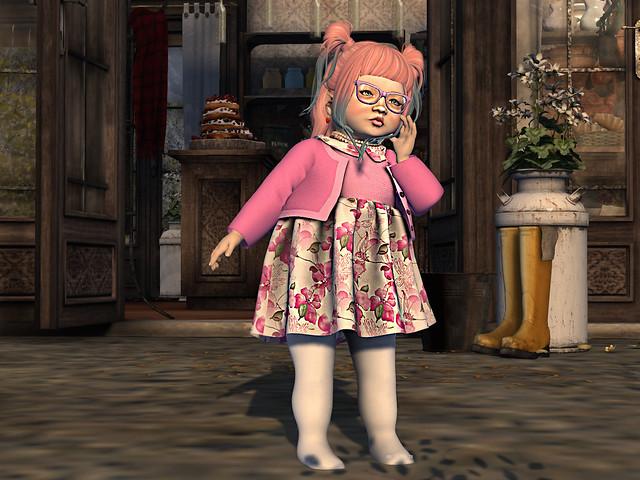 Baby Ghee - Sophia Dress Pink