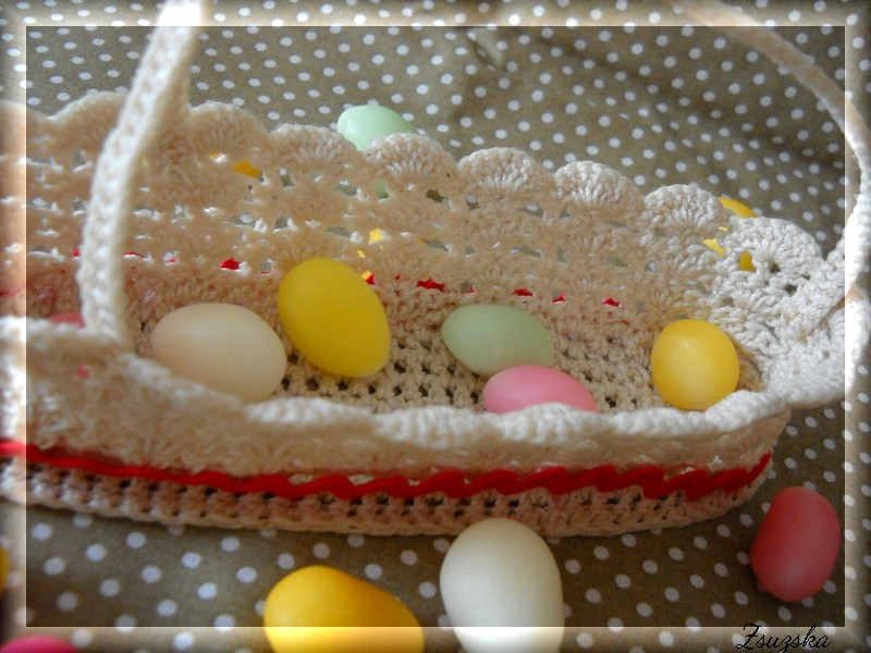 crochet basket, easter (3)