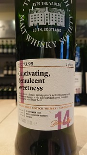 SMWS 73.95 - Captivating, demulcent sweetness