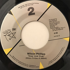 WILSON PHILLIPS:HOLD ON(LABEL SIDE-B)