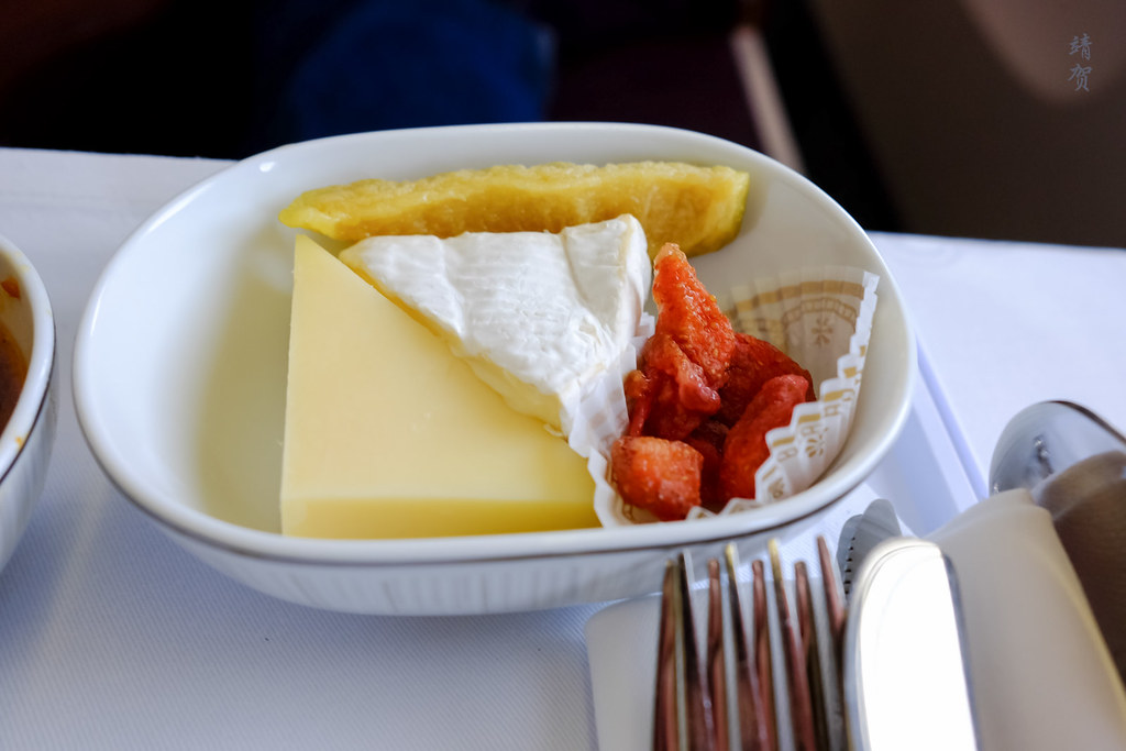 Cheese with dried fruits