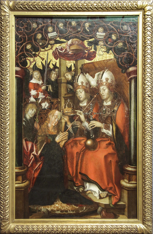 The Coronation of the Virgin, Hans Fries