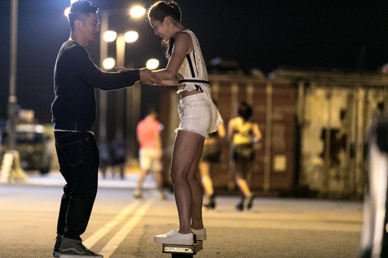 歐鎧淳在《春嬌救志明》的演出,只是客串性質,但意外地得到一個提名。(劇照)