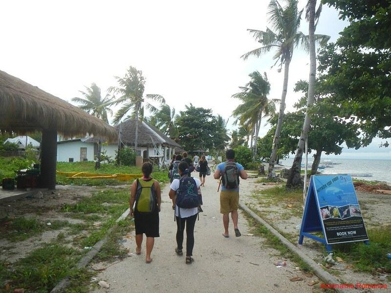 Arrival at Malapascua Island