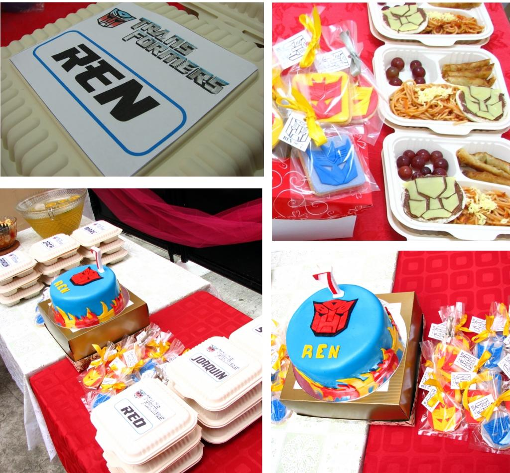 Simple 7th Birthday Celebration Of Ren Mommy Levy