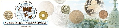 Numismatics International masthead