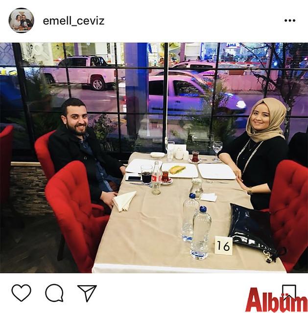 Emel Ceviz, yeni yaşını Oba Köşebaşı Kebap & Baklava'da eşi İsa Ceviz'in organize ettiği romantik bir akşam yemeğiyle kutladı.