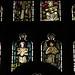 Tamworth, Staffordshire, St. Editha's, St. George's chapel, east window, angel musicians