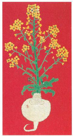 《かぶの花》(1976年、豊田市美術館蔵)