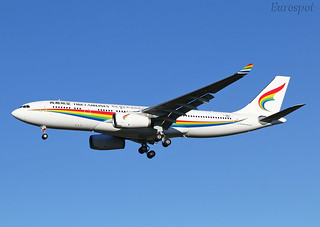 F-WWYC Airbus A330 Tibet Airlines.
