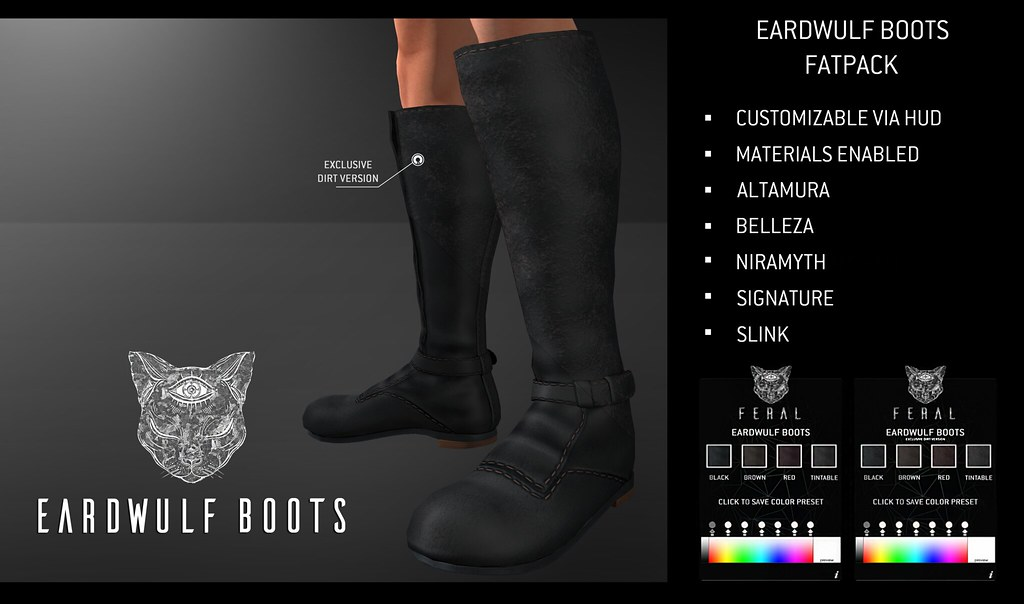 Feral - Eardwulf Boots - TeleportHub.com Live!