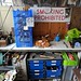 tools chests, bureau vintage enamel sign.