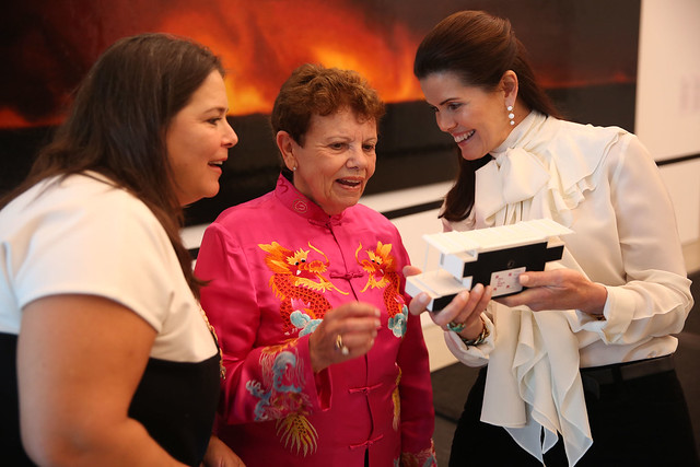 Natalie Diamatis, Carol Damian, & Darlene Perez