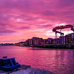 045/365 - Sunrise Preston Docks