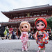 We had a great but breif time at Asakusa but now its time to rush backfor the Tea Party......