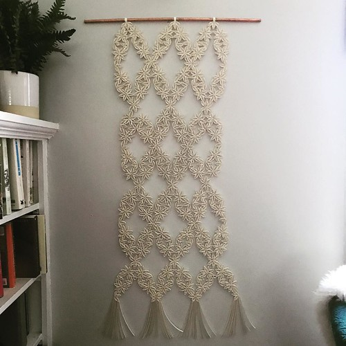 Macrame-style Quilled Wall Hanging by Griffin Carrick