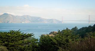 Golden Gate Bridge, Lands End 11/9/07 #sanfrancisco