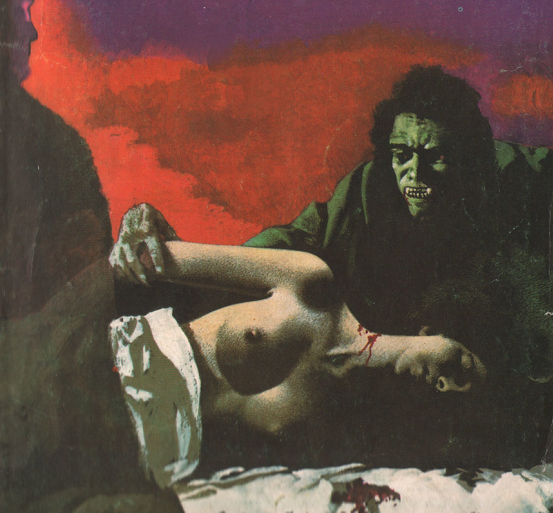 Karel Thole - Detail from Vampir Horror Roman - 006