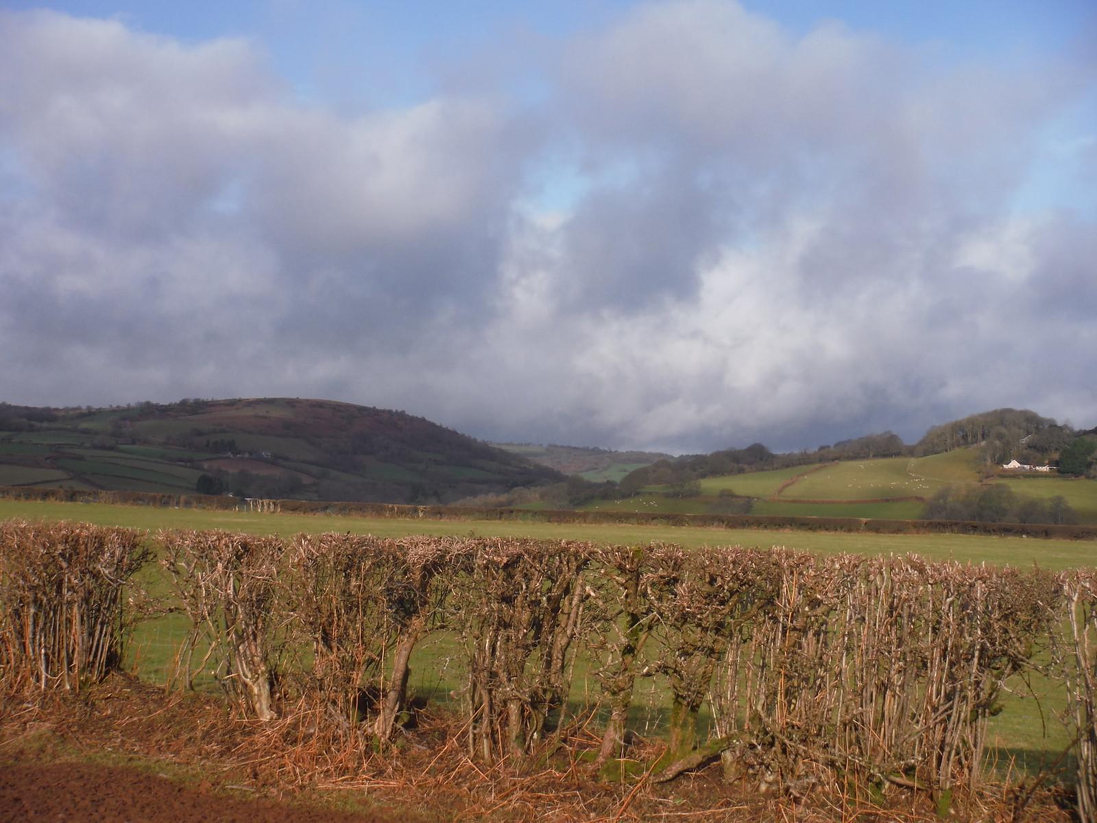 View up the Ysgir Valley SWC Walk 306 - Brecon Circular (via Y Gaer, Battle and Pen-y-crug)
