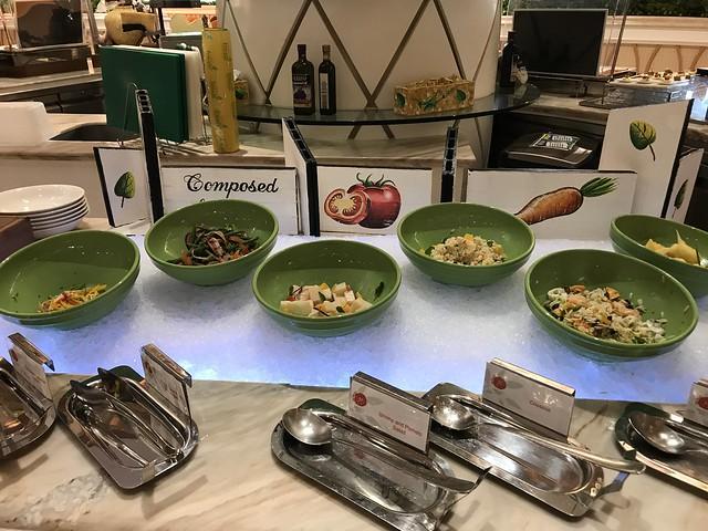 Medley Buffet, salad