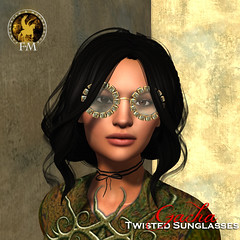 F&M * Twisted Sunglasses (Twisted Wants Gacha)