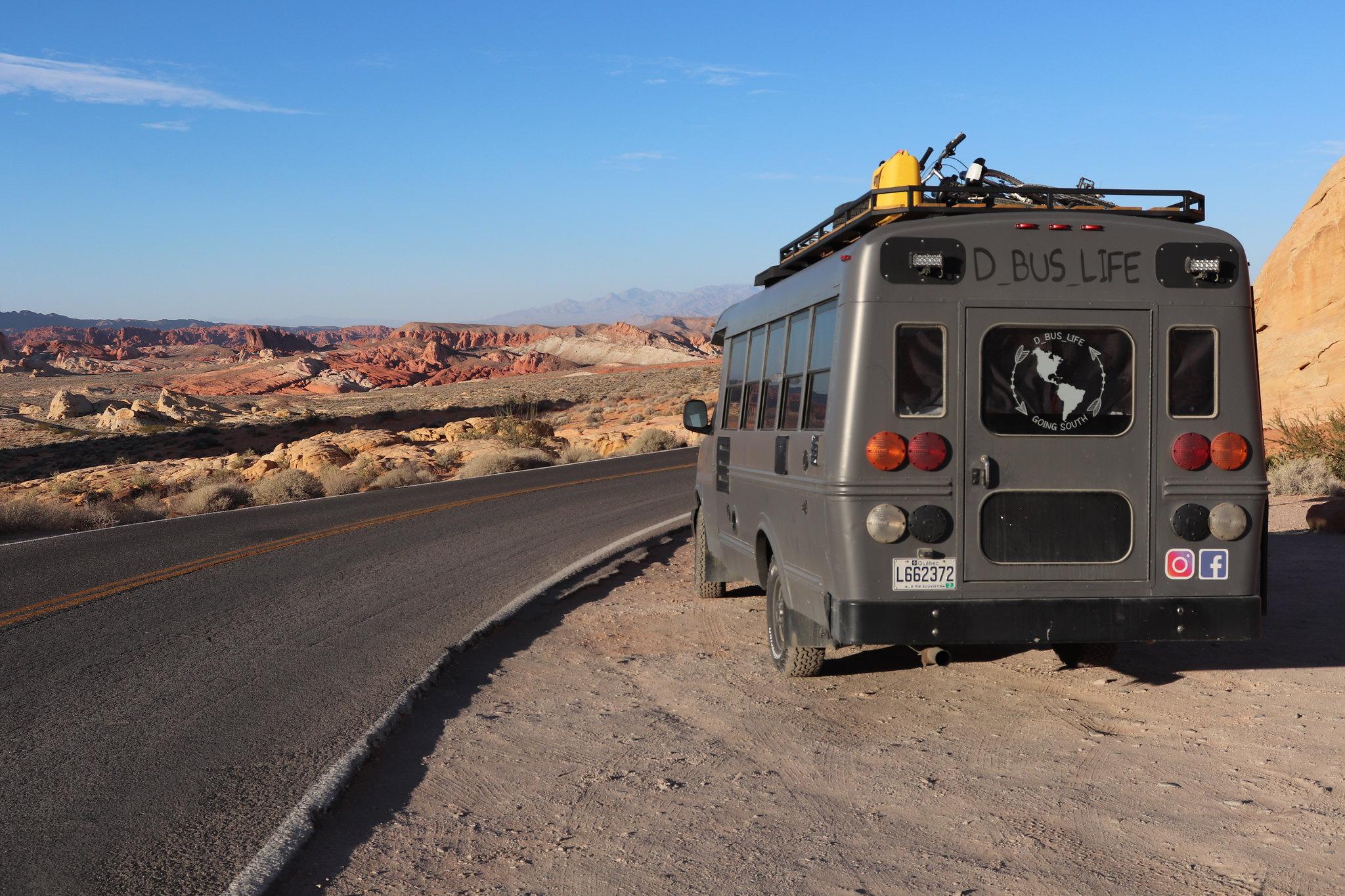 autobus rénovation trip voyage