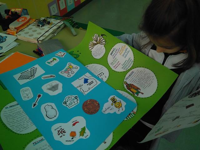 Infantil. Exposición de Secundaria.