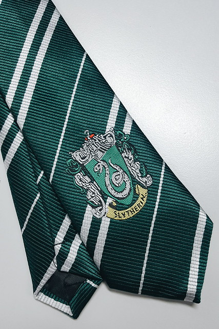 halfwhiteboy - slytherin green, white, silver 04