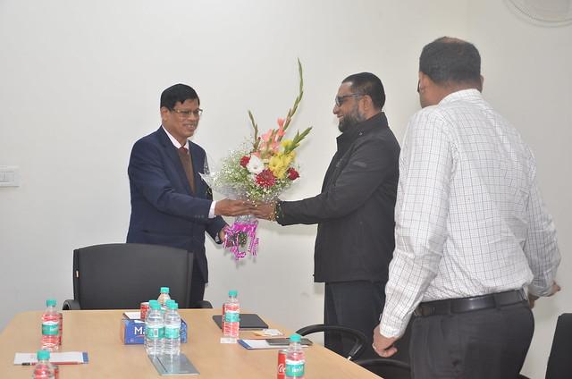 Delegate from RAHIMAFROOZ RENEWABLE ENERGY LTD. from Bangladesh visited ISA Secretariat on 14th February, 2018