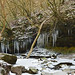 Icicles on the Nant Llech