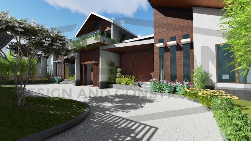 Proyek Rumah Minimalis Modern Bapak Rafa - Depok 6 EXACON, Jasa Desain Arsitektur Rumah Minimalis di Bekasi, Jasa Desain Arsitektur Rumah Minimalis di Tangerang, Jasa Desain Arsitektur Bangunan