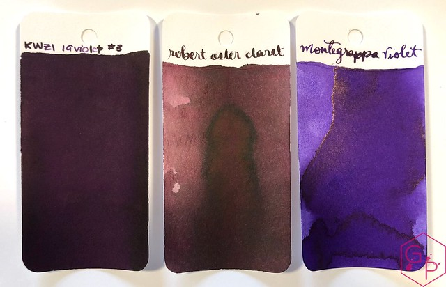 Ink Shot Review KWZI IG Violet #3 @BureauDirect 2